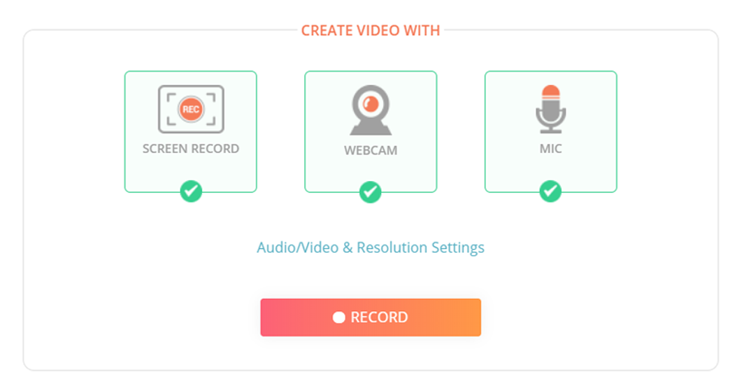Video Recorder for Screen Capture